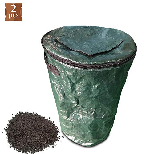 Why Choose Compost Bag Garden Compost Bin Collapsible Container Gardening Bag Reusable Leaf Bags Sta...