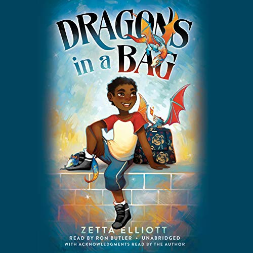 Dragons in a Bag audiobook cover art