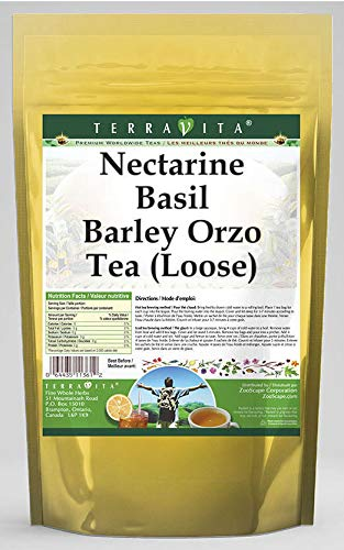 Nectarine Basil Barley Orzo In stock Tea oz 4 562716 Loose A surprise price is realized ZIN: