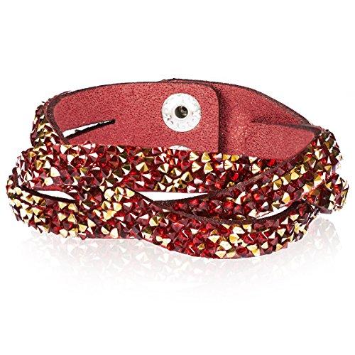 Rafaela Donata - Bracciale fashion - tessuto con cristallo - in diverse lunghezze, Bracciale con cristallo, Bracciali, Bracciale in tessuto, Gioielli di stoffa - 60917035