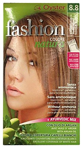 OYSTER Fashion Color natuur zonder ammoniak, p-fendiammin, absorptie, parabenen, met arganolie (8.8)