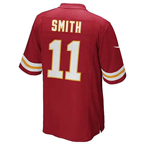 08fe0fef3d4 Nike Alex Smith Kansas City Chiefs Youth Red Jersey (Youth Sizes)