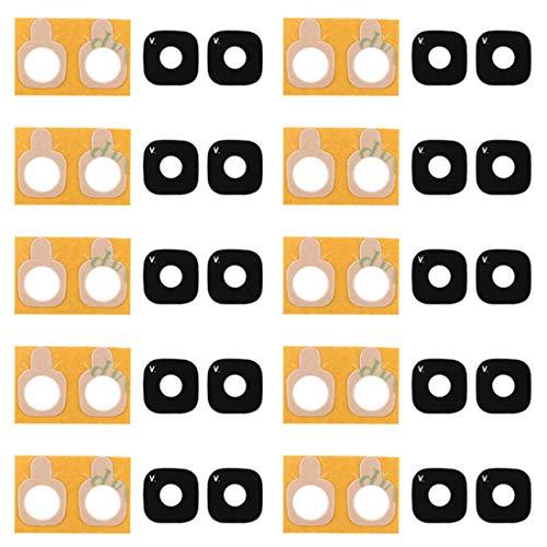 Dmtrab 10 PCS Volver Cubierta de la Lente de la cámara con la Etiqueta engomada for el Galaxy J5 Primer Cámara de Piezas de Repuesto