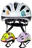 SkullCap Casco Niño Bicicleta diseñado por los niños, Casco Bici Carretera Chico y Chica, Casco Bicicleta montaña, Monstruo