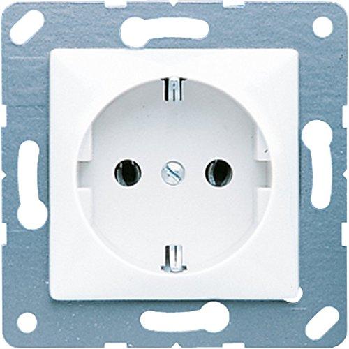Jung CD120KIWW Schuko-stopcontact