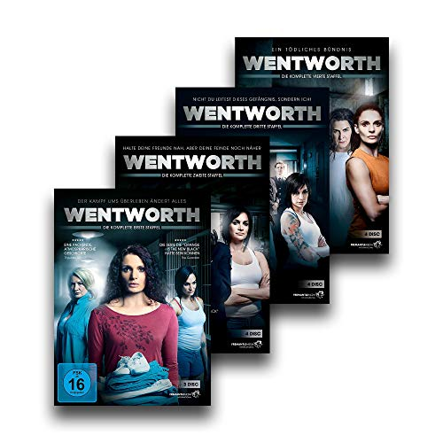 Wentworth - Die kompletten Serien - Staffel 1 + 2 + 3 + 4 - DVD-Set [15 DVDs]