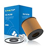 PHILTOP Oil Filter, Engine Oil Filter Replacement for CH10358 CT200H (2011-2017), Corolla (2009-2018); Matrix (2009-2014), EOF007 Spin-On Car Oil Filter Purify Engine Oil Reduce Wear