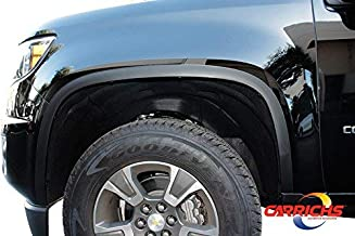 Matte Black Fender Trim For 15-19 Chevrolet Colorado/GMC Canyon (Without OEM Flares)