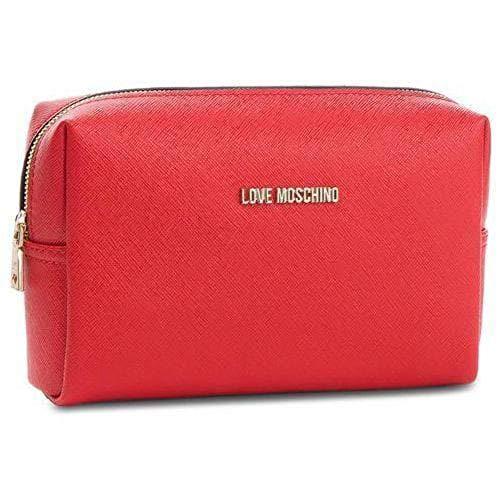 Love Moschino Beauty Case, Piccola Borsa Donna, Rosso