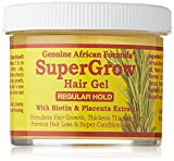 African Formula Super Grow Hair Gel Regular Hold 4oz