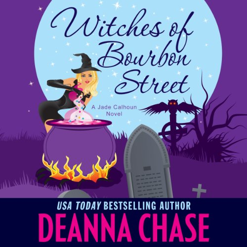 Witches of Bourbon Street audiobook cover art