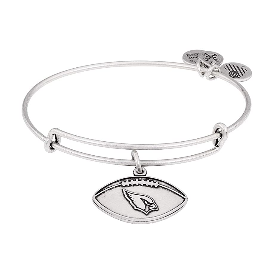 Alex and Ani Womens NFL Arizona Cardinals Football Bangle