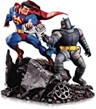 DC Collectibles The Dark Knight Returns: Batman Vs. Superman Mini Battle Statue, Multicolor