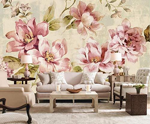 Papel Pintado 3D Flores Marca JEEWALLPAPER