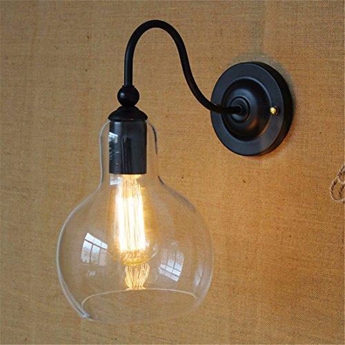 JJZHG wandlamp wandlamp Retro wandlamp persoonlijkheid creatieve buiten slaapkamer wandlamp omvat: wandlampen, wandlamp met leeslamp, wandlamp met stekker, wandlamp schaduw