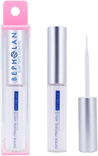 BEPHOLAN Professional Eyelash Glue | Latex Free | Strong Hold for False Eyelashes | Eyelash Adhesive | Safe on Skin | Suitable for Sensitive Eyes | White 176 oz