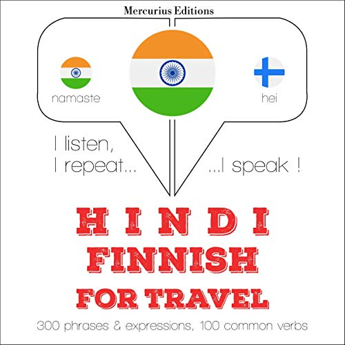 Hindi - Finnish. For travel cover art