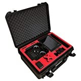 Proessional Carrying Case for The DJI Cendence and CrystalSky Monitor (5.5' or 7.8') with a lot of Additional Space for Accessories by MC-CASES - Waterproofed