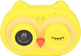 كاميرا أطفال 12MP كامل HD الرقمية الأطفال selfie كاميرا كاميرا الفيديو المزدوج عدسة، 2.0 بوصة طفل لعبة كاميرا وفلاش