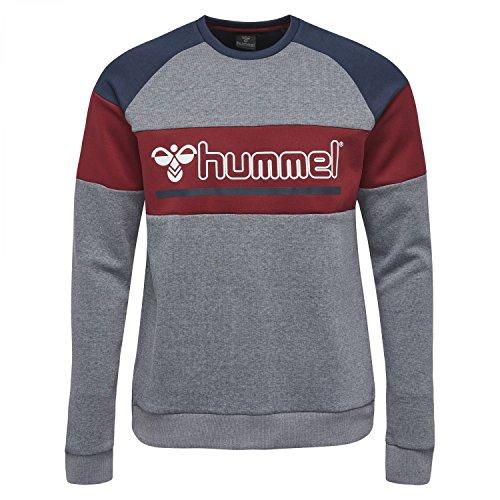hummel Classic Bee Sweater – Orion Sweat-Shirt – entraînement Pull à Manches Longues Pull à Manches Longues – Sport et Loisirs – Div. Couleurs – T-Shirt à Manches Longues col Rond XL Gris