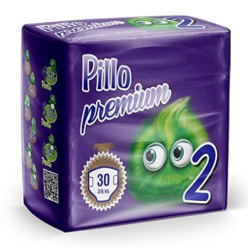PILLO Premium Mini, Taglia 2 (3-6 Kg) 1 pacco da 30pz