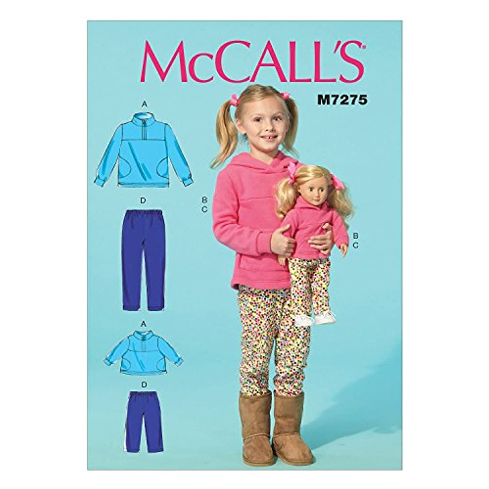 McCall's Patterns M7275 Children's/Girls'/18