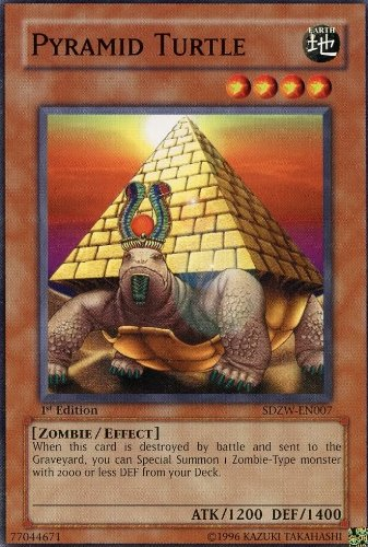 Yu-Gi-Oh! - Pyramid Turtle (SDZW-EN007) - Structure Deck Zombie World - 1st Edition - Common