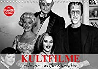 Kultfilme - schwarz-weisse Klassiker (Wandkalender 2022 DIN A4 quer): Filmklassiker und Kultserien der Vergangenheit (Geburtstagskalender, 14 Seiten )