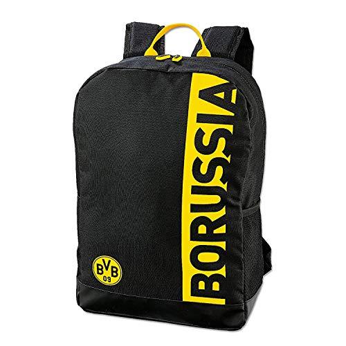 BVB Borussia Dortmund Rucksack ** Schriftzug im Streifen **
