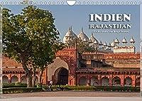Indien, Rajasthan (Wandkalender 2022 DIN A4 quer): Aufnahmen aus Nordindien mit dem wunderschoenen Taj Mahal und der romantischen Pink City. (Monatskalender, 14 Seiten )