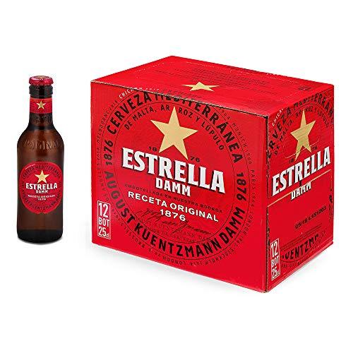 Estrella Damm Cerveza Mediterránea, 12 x 250ml
