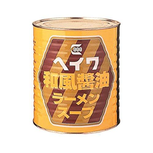 平和食品工業 和風醤油ラーメンスープ 3.3kg缶×6