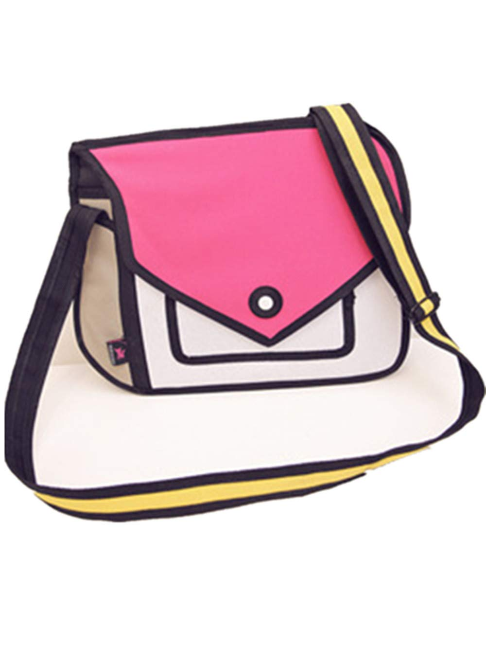 Xugq66 3d Style 2d Drawing Cartoon Handbag Shoulder Canvas Messenger Bag Bow Handbags Buy Online In Fiji Xugq66 Products In Fiji See Prices Reviews And Free Delivery Over 200 Fj Desertcart