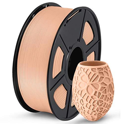 SUNLU PLA filamento para impresora 3D, 1,75 PLA, precisión dimensional +/- 0.001in, bobina de 2.2lb 0.069in