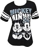 Disney Mickey Minnie Mouse Women's Football Style T-Shirt Small