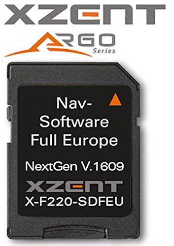 XZENT X-F220 microSD-card mit iGO Primo Europamap- X-F220-SDFEU