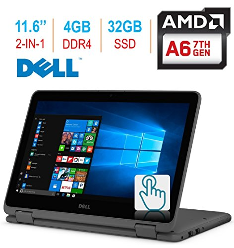 "2018 Dell Inspiron 3000 11.6"" 2-in-1..."
