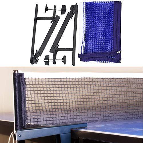 Red de Tenis de Mesa, Red Ajustable de Ping Pong Repuesto Portátil Retráctil para Entrenamiento Abrazaderas, Longitud Ajustable