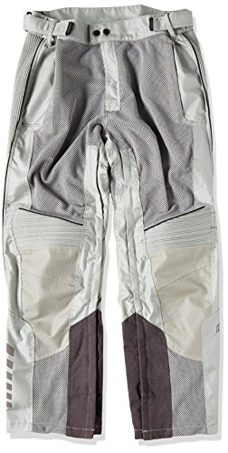 Joe Rocket Phoenix Ion Men's Mesh Motorcycle Pants (Silver, Large Short)