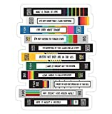 Brooklyn Nine-Nine Sex Tapes Decal Sticker - Sticker Graphic - Auto, Wall, Laptop, Cell, Truck Sticker for Windows, Cars, Trucks