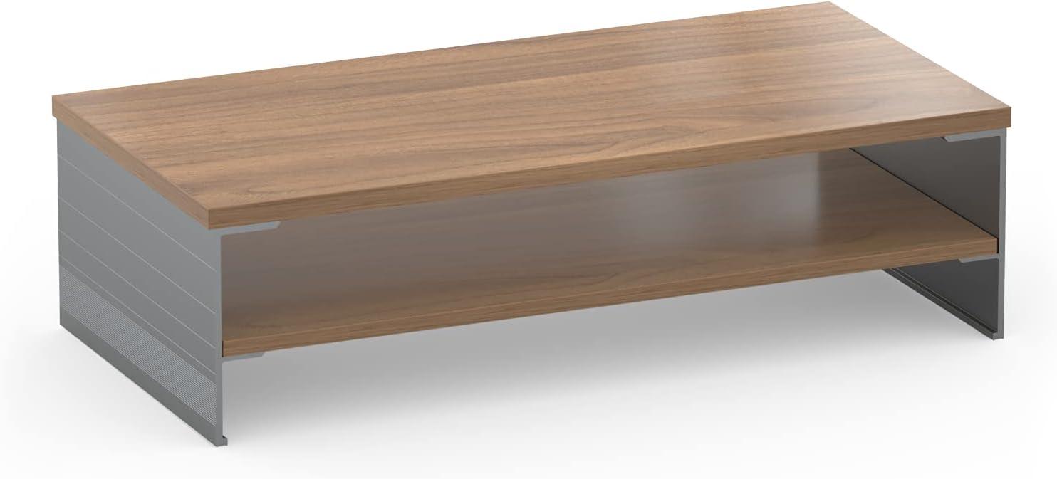 Monitor Stand Riser,SupeDesk Desk Organizer with 2 Tiers Storage,19.6