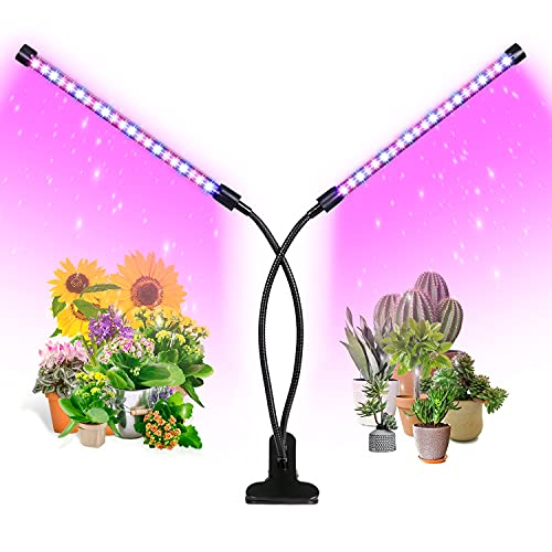 Grow Light, Ankace 5 Dimmable Levels Plant Grow Lights for Indoor Plants with Red Blue Spectrum, 3 Modes Timing Function