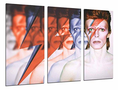 Cuadros Camara Poster Moderno Fotografico Grupo de Rock, David Bowie, Relampago, 97 x 62 cm, Ref. PST26783