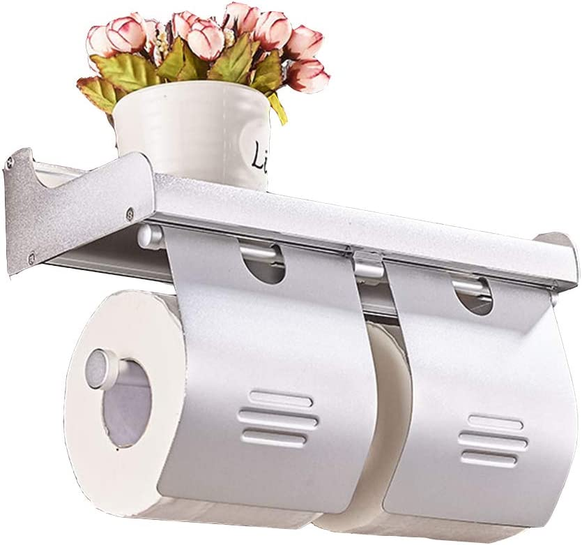 ZHANWEI Bathroom Shelf Shower Organiser Toilet Award-winning store Holder Roll Oklahoma City Mall Paper