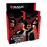 Magic: The Gathering Innistrad: Crimson Vow Collector Booster Box | 12 Packs + Box Topper (181 Magic Cards)