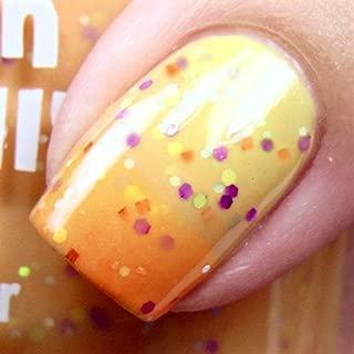 Sunny Daze -Color Changing Thermal Nail Polish Orange