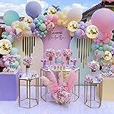 Vanjehou Pastel Balloons Garland Arch Kit,...