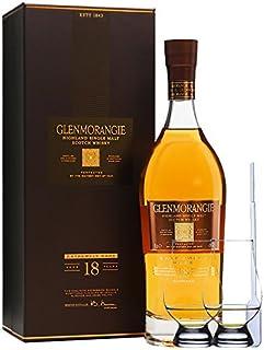 Glenmorangie 18 Jahre Extremely Rare 0,7 Liter  2 Glencairn Gläser  Einwegpipette 1 Stück