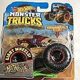Hot Wheels Monster Trucks coches de juguetes 1:64 Bone Shaker (Mattel GNJ57) , colores/modelos surtidos