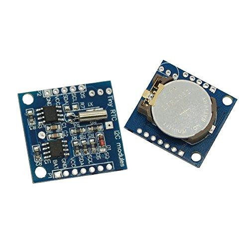 SATKIT Placa Reloj Arduino Tiny RTC I2C DS1307 [Arduino Compatible]